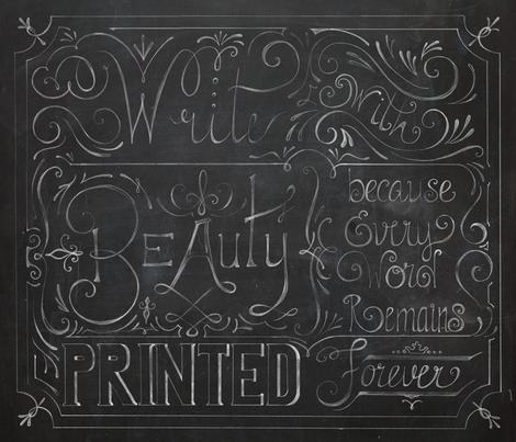 Julie's Calligraphy- ChalkBoard