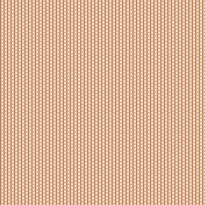 Red and Gold Floral Stripe