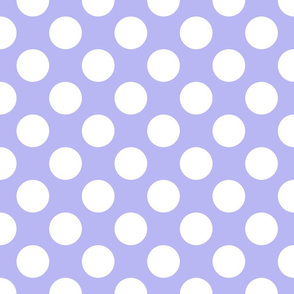 Regency and White ~ Polkadot