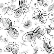 Calligraphic Butterflies