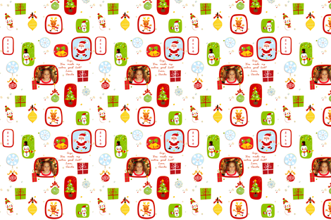 Personalized Wrapping Paper ~ Gigi