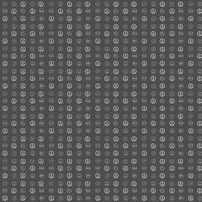 Nowhere Dot Grey Doll  2Sized-ch