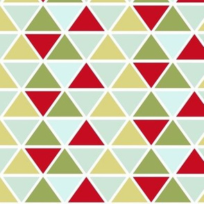 triangles // green-red-blue
