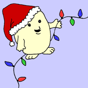 Doctor Who Christmas Adipose