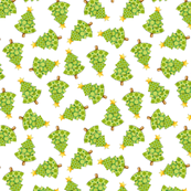 Polka Dot Christmas Trees