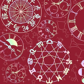Celestial Cycles (Red)