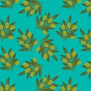 Olives - Blue Green