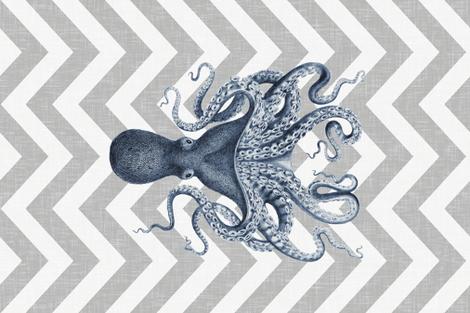 Ink Octopus Oasis Tea Towel