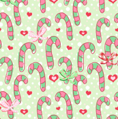 I love you candy cane ♥