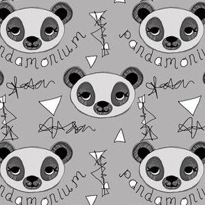 Pandamonium Glacial Gray