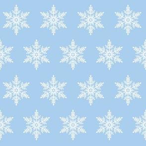 Let it Snow! Snowflake - Lt Blue