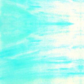 Ocean and sky watercolor