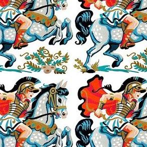 vintage retro roman Rome Greece Greeks warriors gladiators soldiers horse mythology