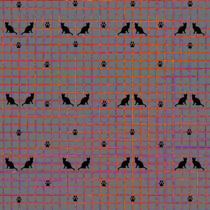 Graph Paper Cats
