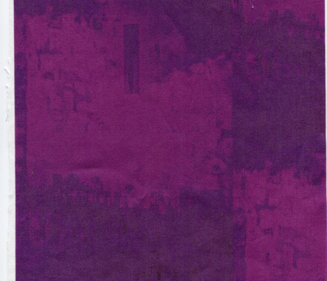 I see dimly - Very dark purple