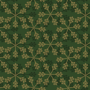 snowflakes_greengold