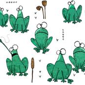 Random frogs