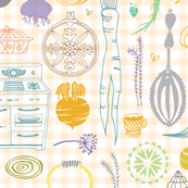 Vintage_kitchen_and_root_veggie_pattern