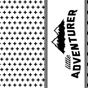 """Little Adventurer Minky Blanket // 54"""" width"""