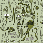 River Life - Olive/green