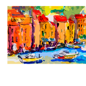 Portofino Italy Watercolor