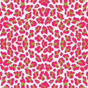 Sweet Leopard SUGAR sack Paris Bebe DEEP shocking pink apple green