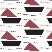 marsala sail boat - elvelyckan