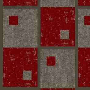 Field Check - red, grey