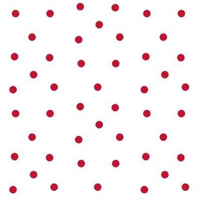 Polka Dots- red/white