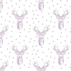 purple buck // triangles