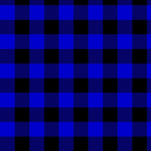 Blue Buffalo Plaid