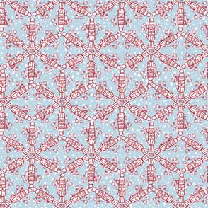 Thermos Snow Crystals (smaller)