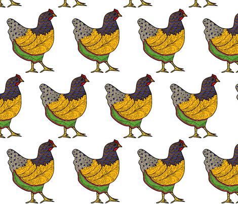 Doodle Hen 1
