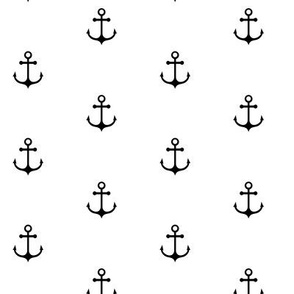 Anchor - Black and White