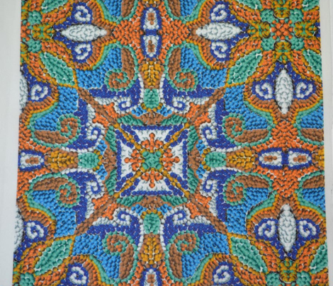 Beaded Mosaic