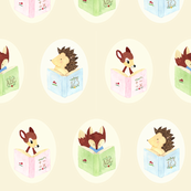 Baby Woodland Animals Reading
