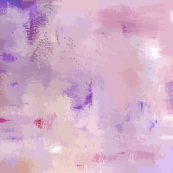 Vectorized Abstract Painting - Purple & Pinks