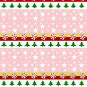 Comet-candy cane trees-pink dk green
