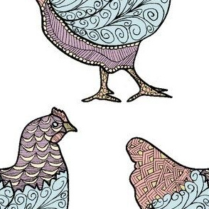 Doodle Hen 3