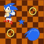 Sonic the Hedgehog Fabric