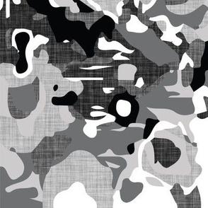 monochrome linen jubilee // small