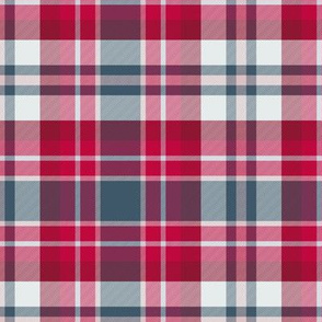 Tartan Red and Spruce Plaid
