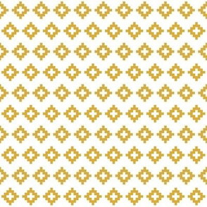 gold aztec // small