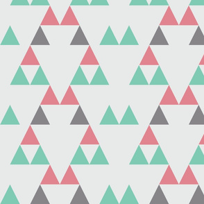 Quiver_Full_of_Arrows_Triangles_Two_Pink_Dark_Gray_Green