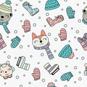 ANIMAL HOLIDAY PATTERN