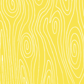 woodgrain // yellow