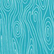 woodgrain // turquoise