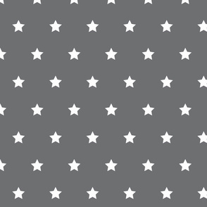 Grey with white star