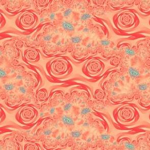 Fractal Roses, Red
