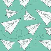 Paper Planes - Teal